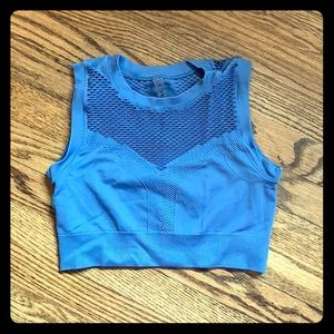 Long line athleisure top
